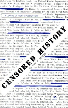 Veritas Books: Censored History E.D.Butler