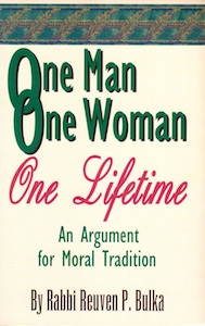 Veritas Books - One Man One Woman One Lifetime Rabbi Bulka