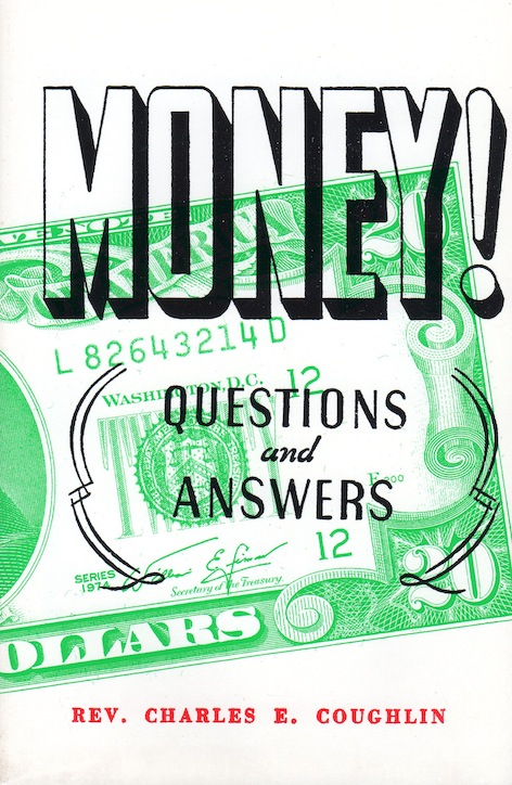 Varitas Books: Money Qs and As Rev. C.E.Coughlin