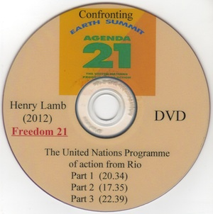Veritas Books: Agenda 21 Confronting the Earth Summit in Rio H.Lamb