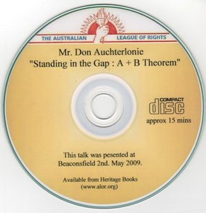 Veritas Books: Standing In The Gap A B Theorem D.Auchterlonie