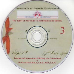 Veritas Books: Treaties and Agreements Affecting the Constitution Dr D.Mitchell