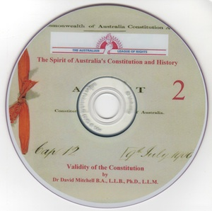 Veritas Books: Validity of the Constitution Dr D.Mitchell