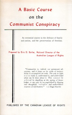 Veritas Books: A Basic Course on the Communist Conspiracy Eric D. Butler