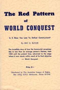 Veritas Books: The Red Pattern of World Conquest Eric D. Butler