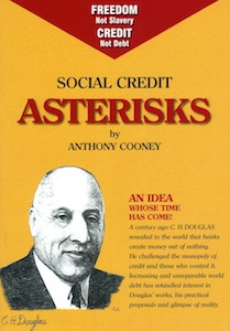 Veritas Books: Social Credit Asterisks Anthony Cooney
