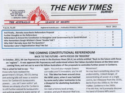 Veritas Books: IN Australia New Times Survey Subscription